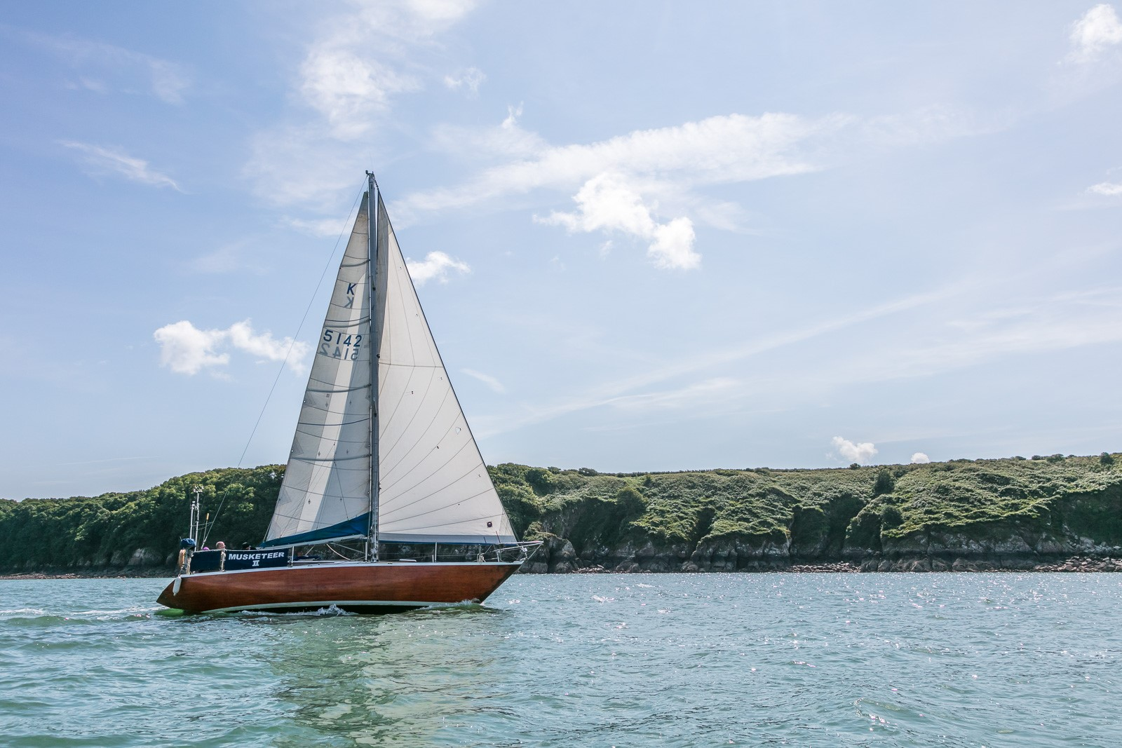 Sailing on the Milford Haven Waterway