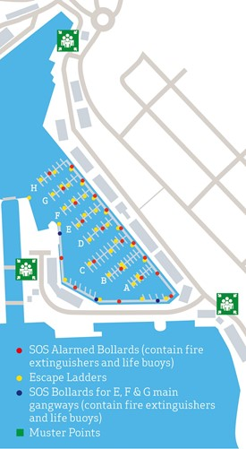 Safety plan of Milford Marina
